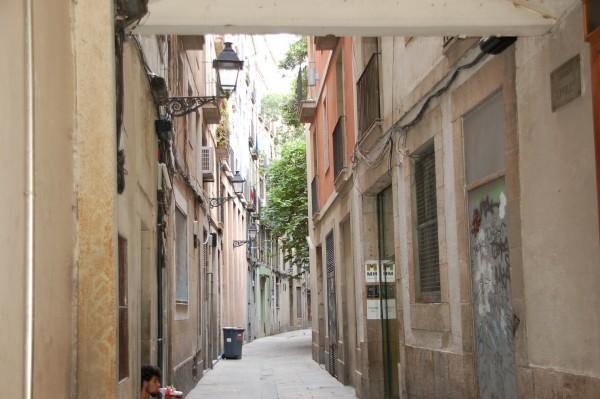 In den Gassen von Barcelona